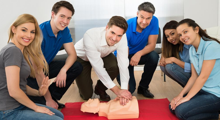 CPR and First Aid Group Training