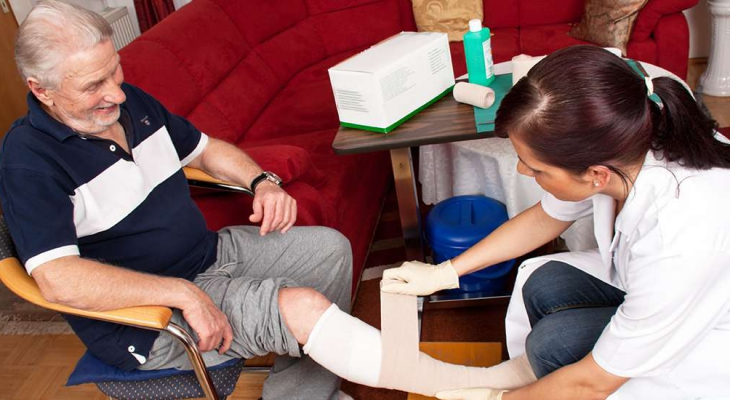Personal nursing service wound care